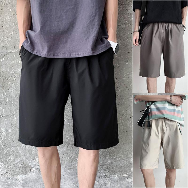 Ins Pantaloncini casual allentati in Pantaloncini casual da uomo in Pantaloncini da uomo Brand Brand Brand Studente Coreano Pantaloni sportivi