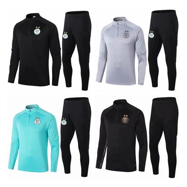 2021 الجزائر محرز Bounedjah Soccer Training Suit 20 21 Real Madrid Survetement Mailleot De Foot Sportswear