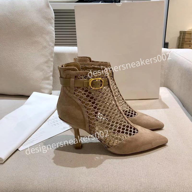 Christian Dior d'or 2021top New Women Summer Causla Sandalias Retro Pescador Zapatos Malla transpirable Toe Round Toe Lace Up Shoes Lazs Flat Plazs XL201204 AOV