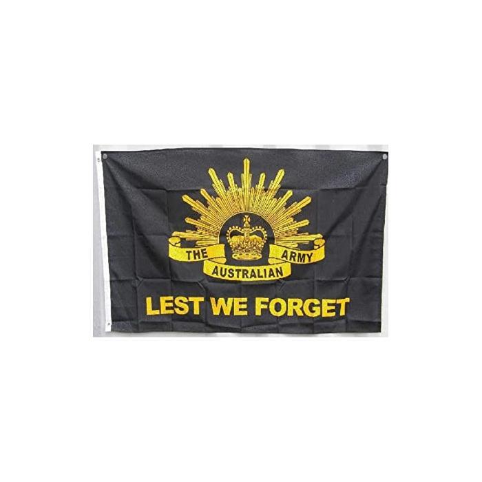 Damit wir australische Army-Flagge, Polyester-Gewebe, die alle Länder mit doppelseitigem Druck hängen, vergessen
