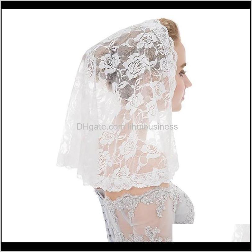 Sarar Şapka, Atkılar Eldiven Moda AessoriesheadKarf Düğün Gelin Dantel Kadınlar Kız Başörtüsü Müslüman Headdress El Yapımı Şal Lady Gazlı Bez EV