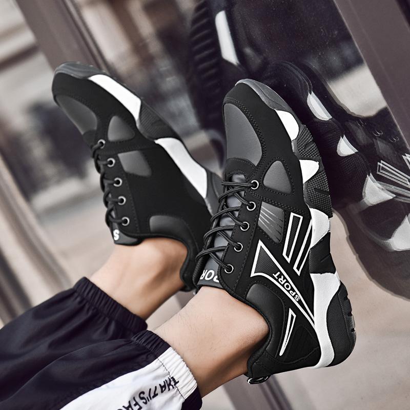 Bahar Güz Uygun Nefes Ayakkabı Kadın Erkekler Için Atletik Chaussures Işık Yukarı Yürüyüş Platformunda Yürüyüş Sekiz Sekiz 36-44