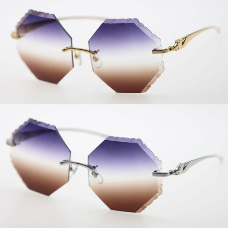 Selling leopard series Full frame Metal Adumbral Sunglasses men famous Unisex UV400 Lens Sun Glasses driving male and female Eyeglasses 18K Gold Hot