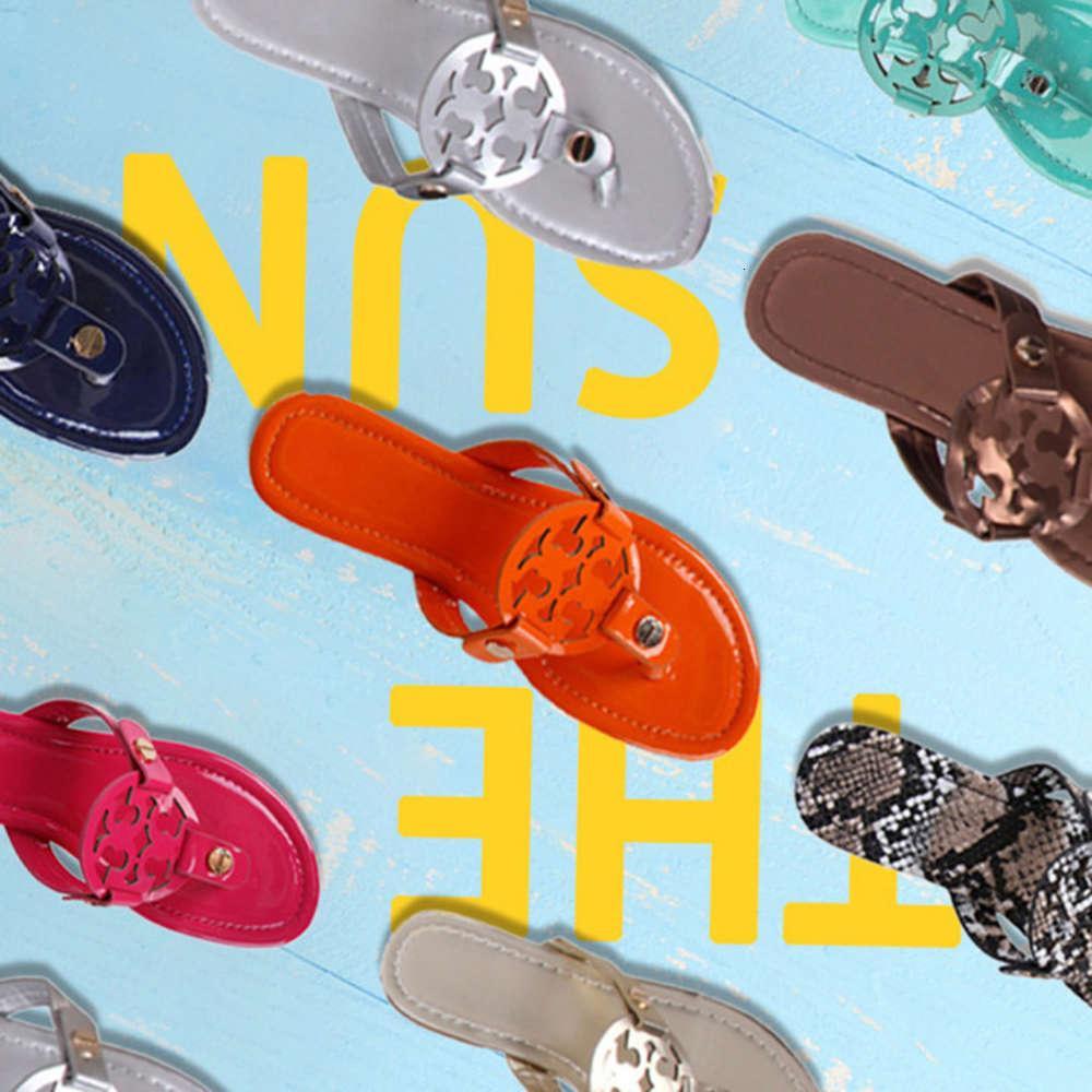 Sommer Damen Sandalen Weichen Boden Hohl Sexy Mode Casual Flip Flops Clip Toe TB Hausschuhe