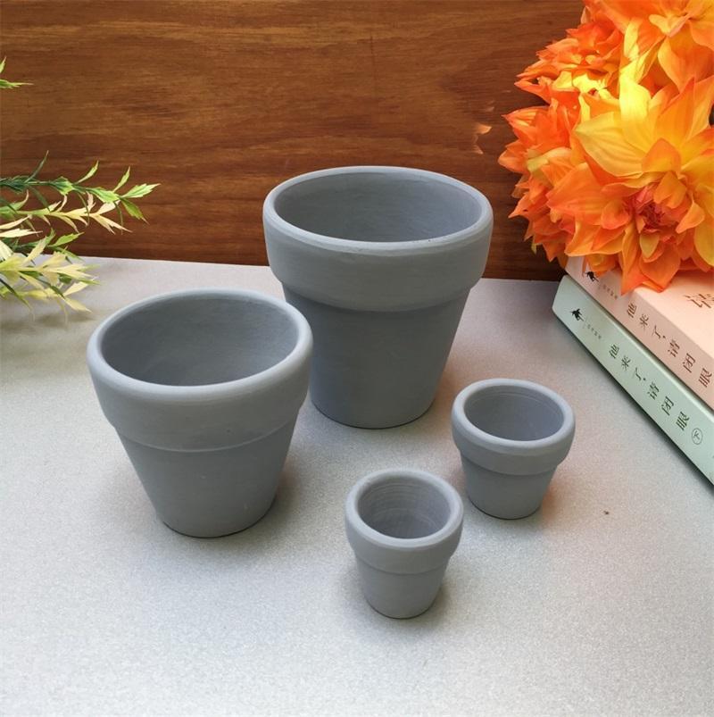 Mini terracota potenciômetro de panela cerâmica plantador cacto flor suculenta vasos de berçário grande jardim pot4cps jno3 qkxv 1486 t2
