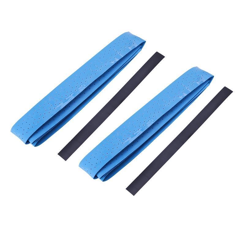 Pcs Anti Slip Perforated Super Absorbent Tennis Overgrip Badminton Squash Racquet Grips Tape Sweatband