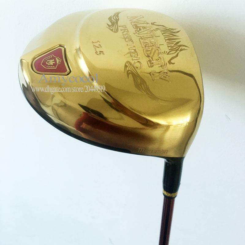 Neue Frauen Versandclubs Maruman Majesty Prestigio Free Driver 9.5 Graphit 10.5loft 9 Fahrer Golf Golf oder Kopfbedeckung KATAN QULIH
