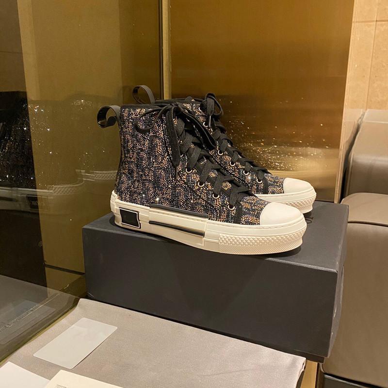 40٪ خصم الفمز الأحذية عارضة للرجال النسائية الأزياء ايس ماركة مصمم الجلود حجم كبير خارج الصيف دروبشيب مصنع بيع ميكس ترتيب المربع الأصلي