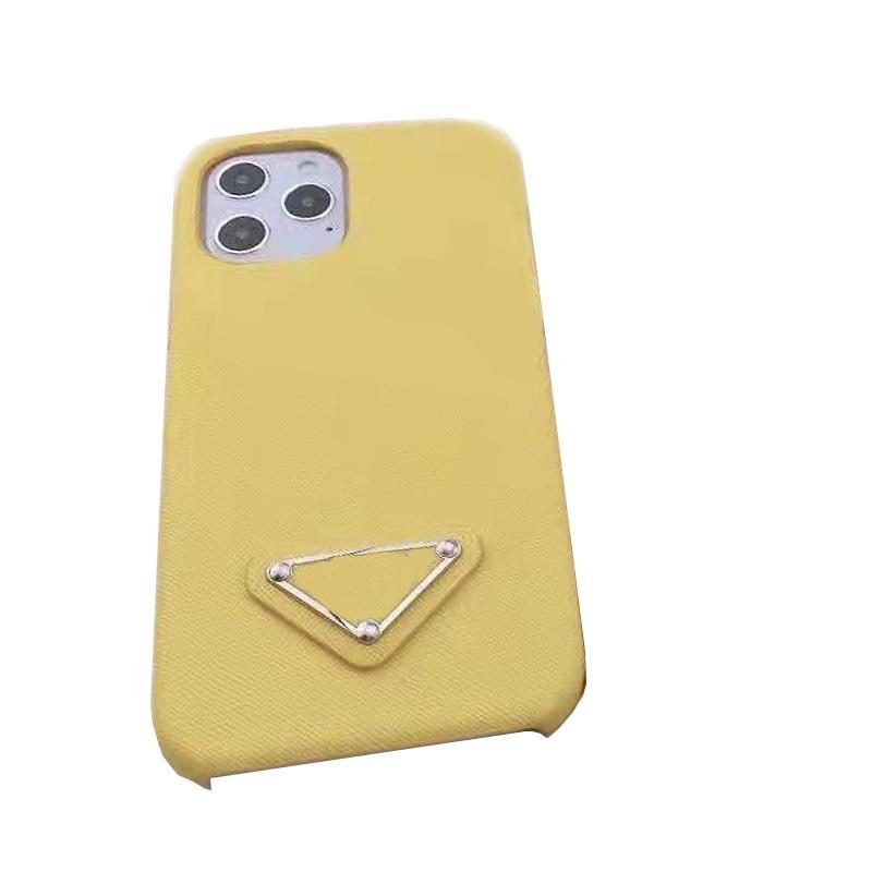 Case Classic Cases per iPhone 12 Mini 11 Pro Max XS XR x 8 7Plus Fashion Brand Full Shell Protective Coperchio del telefono
