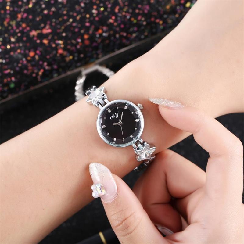Pulsera casual para mujer Reloj de cinturón de malla de cuarzo Moda relojes de muñeca Diseñador Luxury Ladies Wristwatches