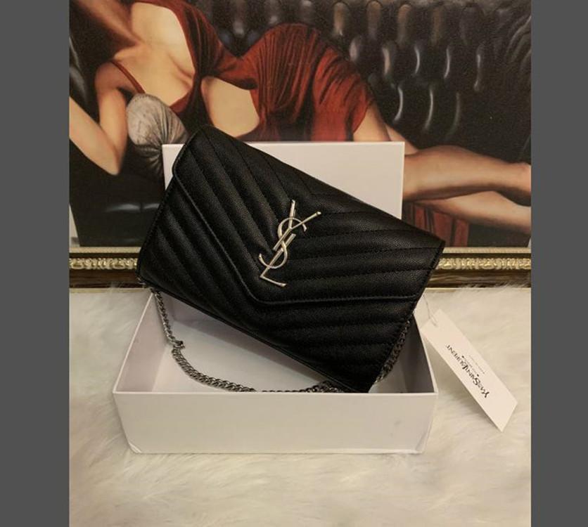YSL Bag Frauen Brieftasche Luxurys Designer Taschen 2021 Crossbody Handtasche Handtaschen Geldbörse Messenger Tote Louis Vutton Bag