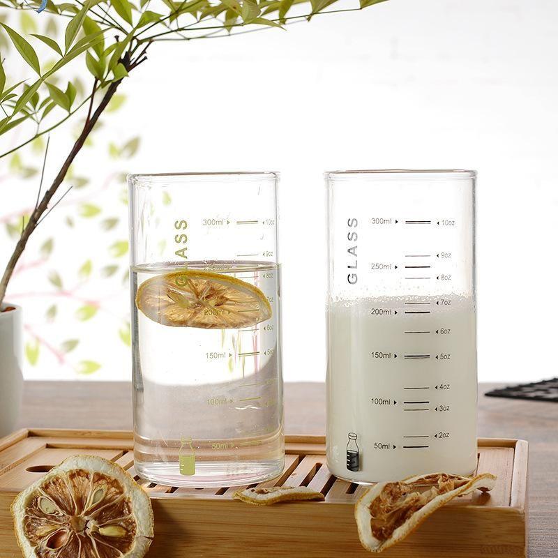 4 클래식 홈 아침 물 유리 사무실 주스 우유 컵 GLA-1616 와인 안경 세트