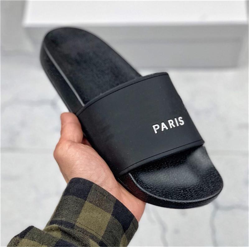 2021 Fashion Slide Sandali Pantofole per uomo Donna con scatola originale Designer Hot Unisex Beach Flip Flops Slipper Migliore qualità