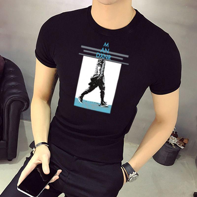 T-shirt T-shirt da uomo in poliestere da uomo T-shirt da uomo Yuan