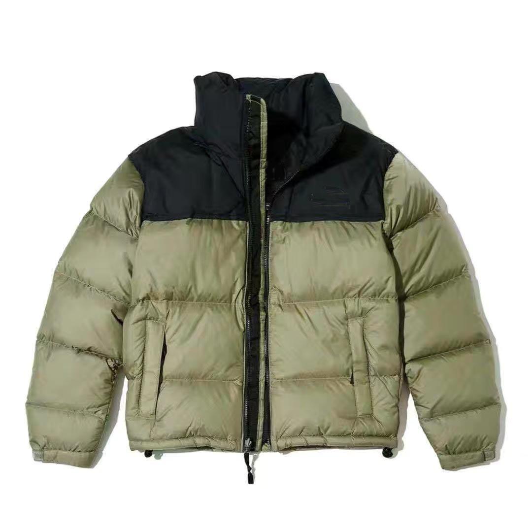New Winter Mens Down Jacket Fashion Trend Giacca Giacca in cotone Giacca imbottita Coppia Calda calda e donna corta