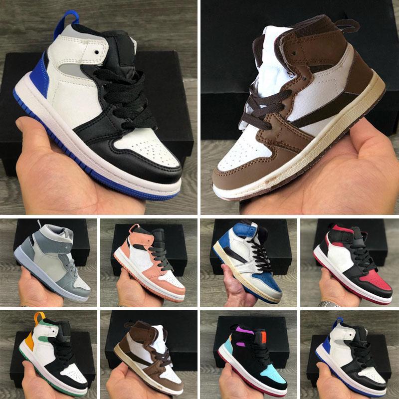 J1 J4 Nouvelle arrivée enfants 27 formateurs concepteur enfants athlétique garçons et filles air chaussures de course enfant cadeau