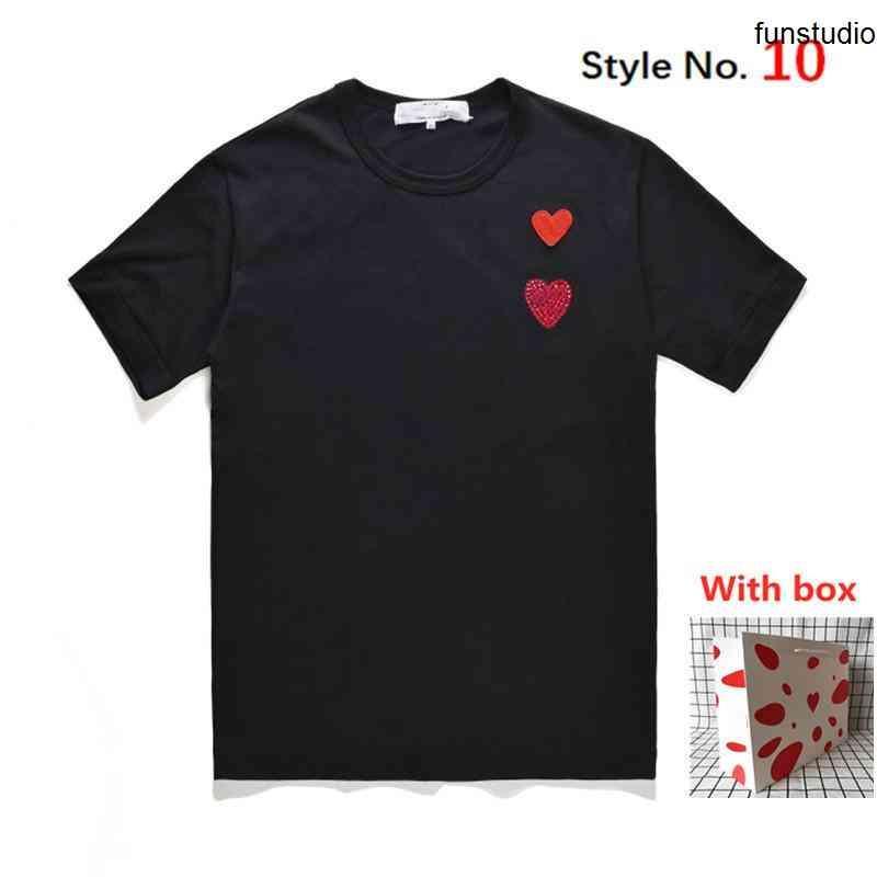 T-shirt de haute qualité T-shirt Cool imprimé Hommes tops à manches courtes T-shirts T-shirts Vêtements Boîte étiquetée respirante et absorbante de sueur