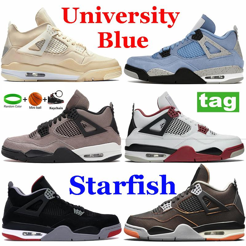 High University Blue Basketball shoes White Xsail Bred Black Cat fire red Starfish Oreo Neon Paris Mens Running sneakers Taupe Haze Sport Trainers
