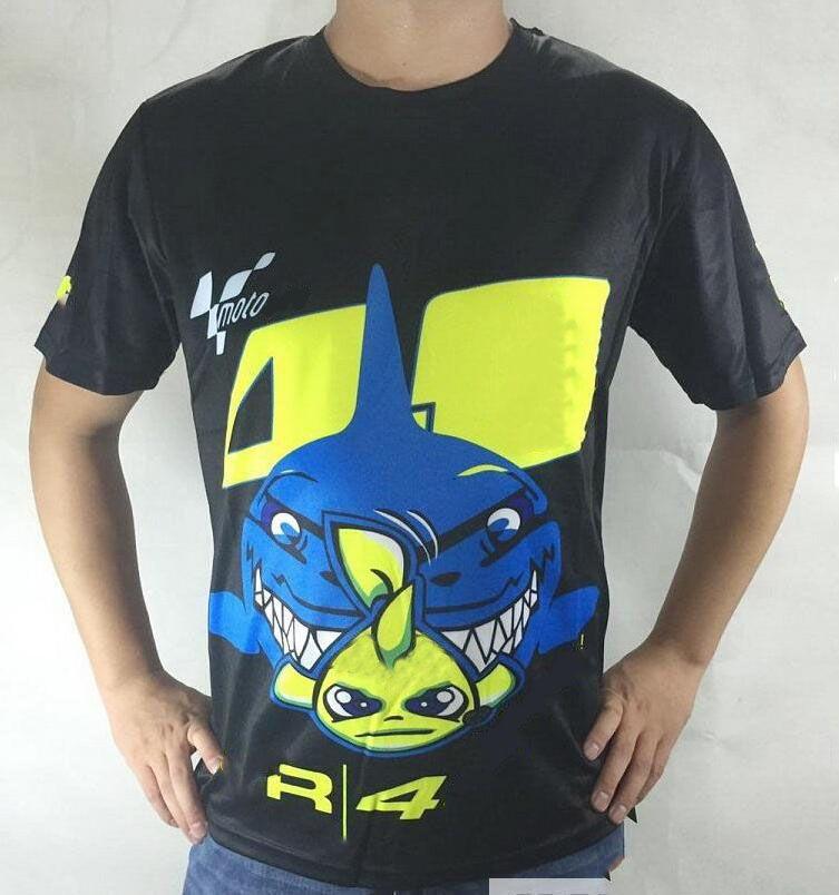 Camiseta de carreras de motocicletas Camiseta de locomotora fuera de la carretera Top de manga corta de secado rápido