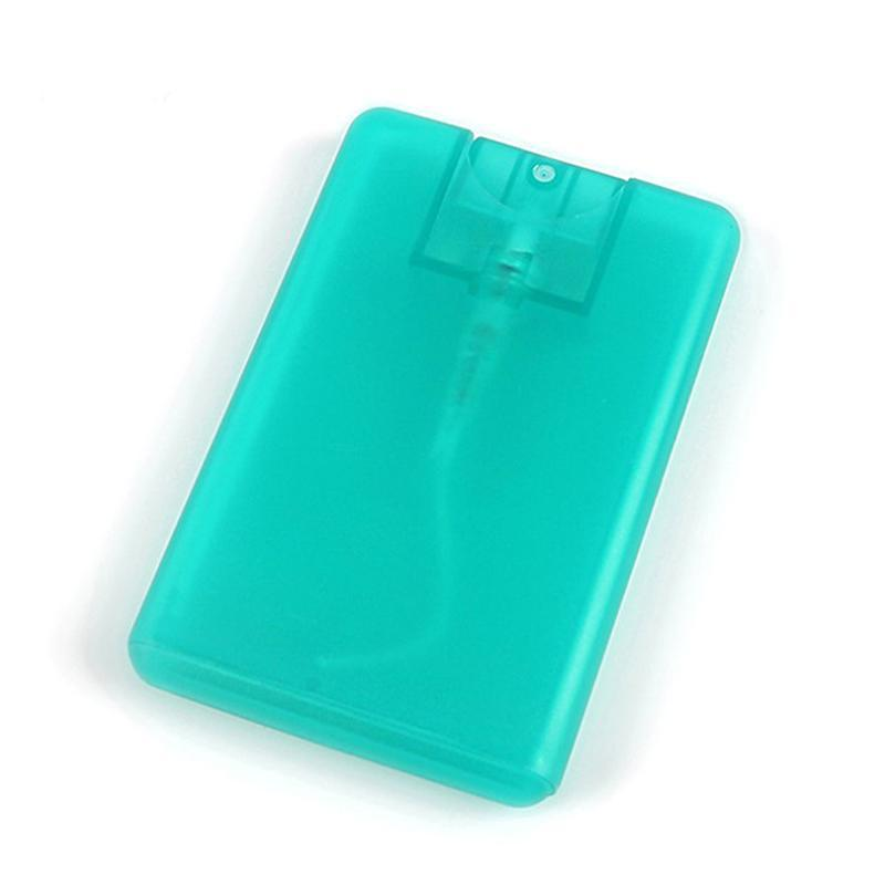 Storage Bottles & Jars 20ml Perfume Refillable Bottle Portable Plastic Spray Moisturizing Water Box Card Type