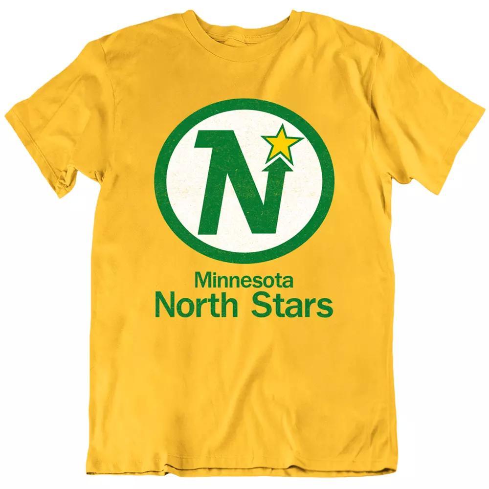 Minnesota North Hockey Sterne Sport Jersey Minneapolis 60's Vintage Herren T-Shirt