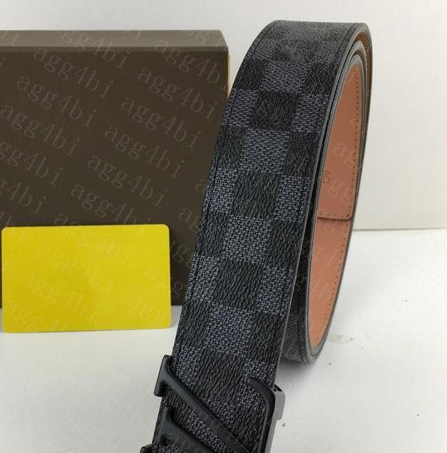 Classic Brand Belts 2021 Fashion Big Buckle Genuine Leather Belt Have Box Designer GG&#13men Women High Quality Mens Belt From