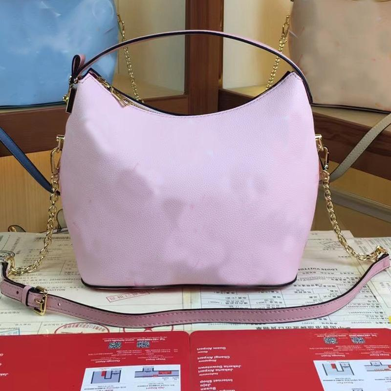 Women Hand Bag Handbag Wallet Lady Tote Fashion Shoulder Bags Grain Calfskin Leather Classic Letter Golden Hasp Detchable Strap Handbags Purse
