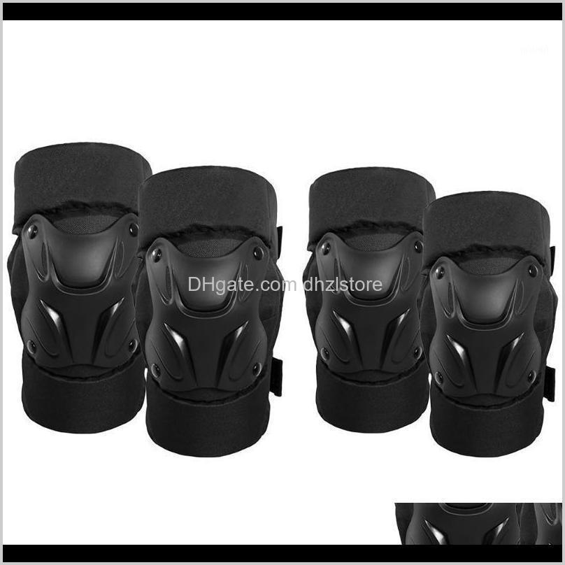 Safety Athletic Outdoor As Sports & Outdoors Motorcycle Racing Motocross Pads Cycling Knee Protector Caps Brace Elbow Guards For Adults / Kid