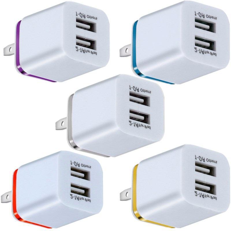 Hızlı Adaptif Duvar Şarj Cihazı 5 V 2A Akıllı Cep Telefonu için USB Güç Adaptörü