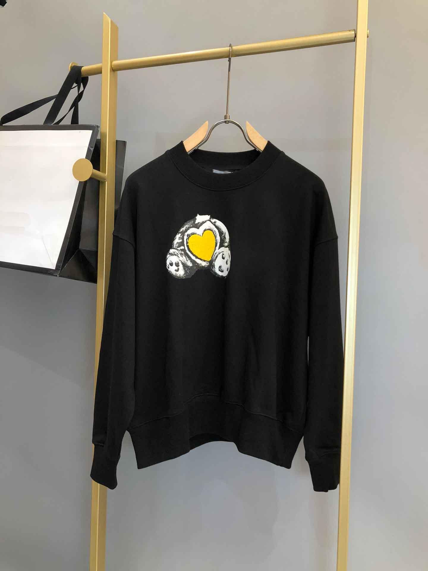 2021SS Spring and Summer Nouvelle impression de coton à manches courtes à manches courtes T-shirt T-shirt Tableau: M-L-XL-XXL-XXXL Couleur: Noir Blanc M1V3