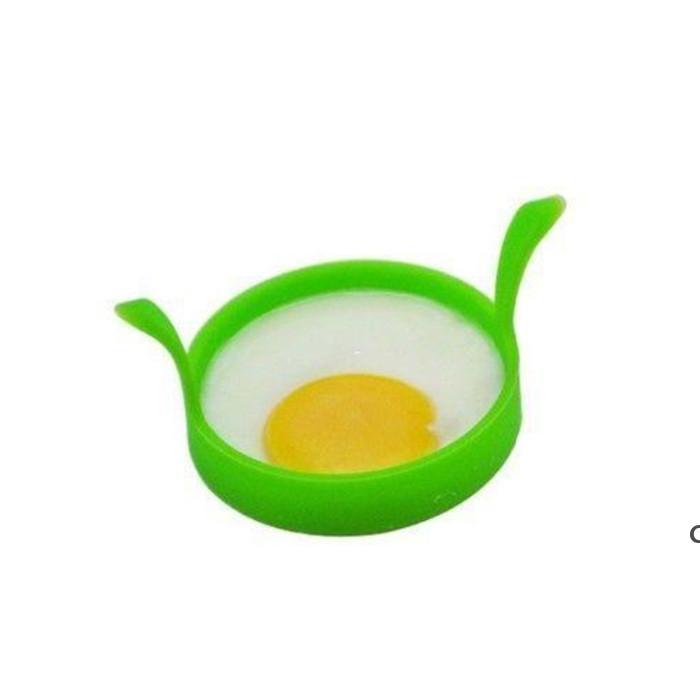 Huevo Frying Machine Cocina Silicone Fry Frier Frier Horno Poacher Huevo Pacro Panqueque Anillo Huevo Herramienta Herramienta DHE6042