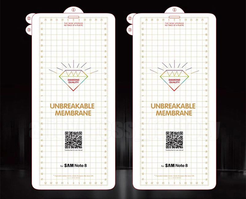 Unbreasable Membrance Soft Screen Protector Curved Full Cover Coverage Shocksäker Hydrogel Film Guard för iPhone 13 Pro max 12 mini 11 XS XR x 8 7 6 6s plus se