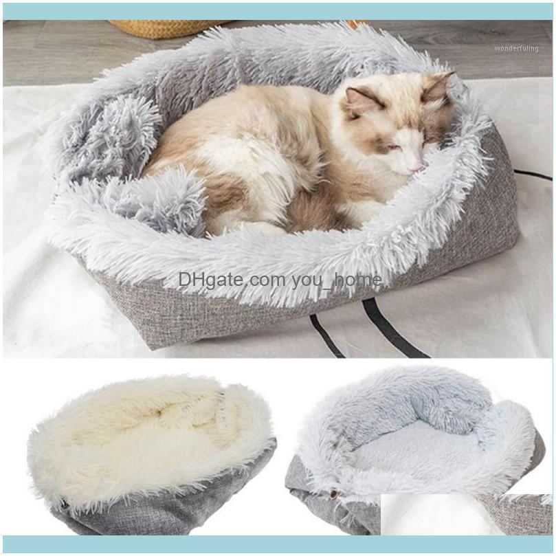 Beds Furniture Supplies Home & Gardenpet Washable Pet Cat House Nest Plush Bed Winter Warm Pets Mats Kitten Soft Sleeping Bag1 Drop Delivery