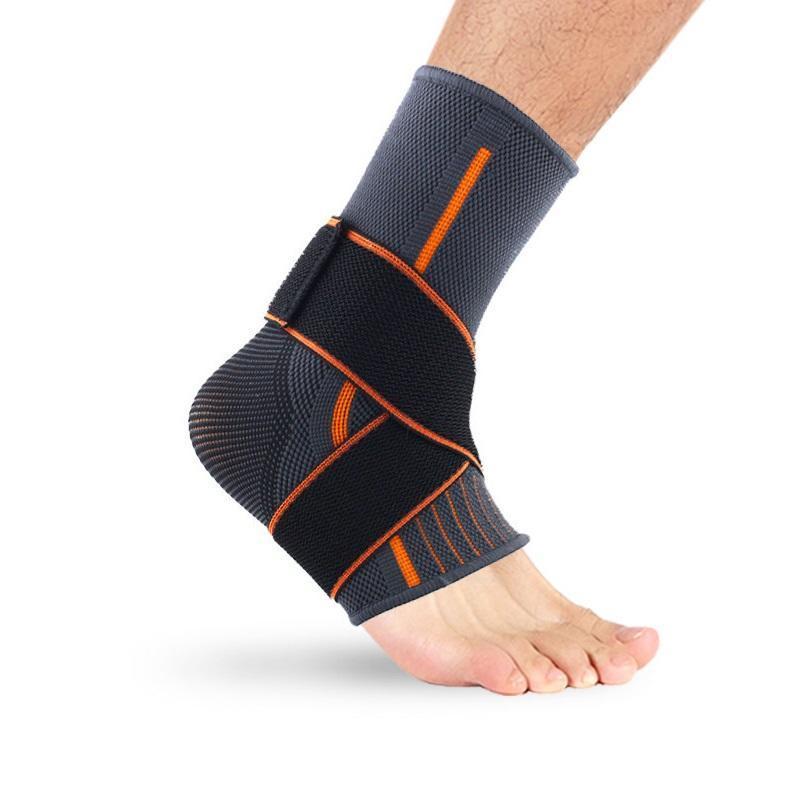 Attrezzatura sportiva sportiva per la caviglia elastica a maglia da ciclismo all'aperto