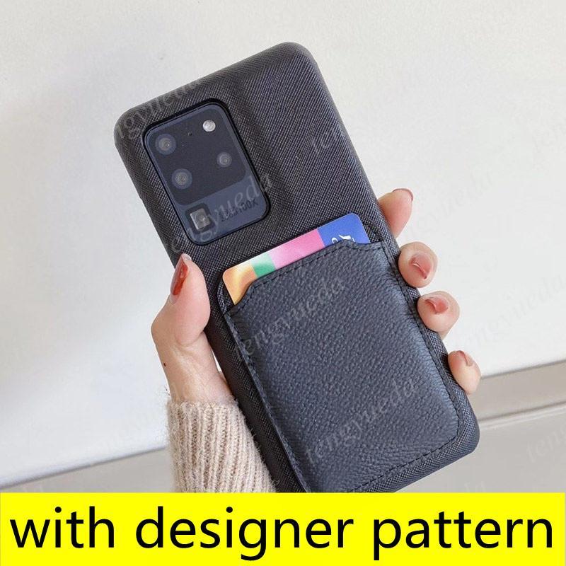 أزياء مصمم الحالات الهاتف لآيفون 12 11 برو ماكس xs xr xsma 8plus أعلى جودة بطاقة جلدية حامل الهاتف المحمول الفاخرة حالة مع سامسونج S21 S20 S10 زائد ملاحظة 20