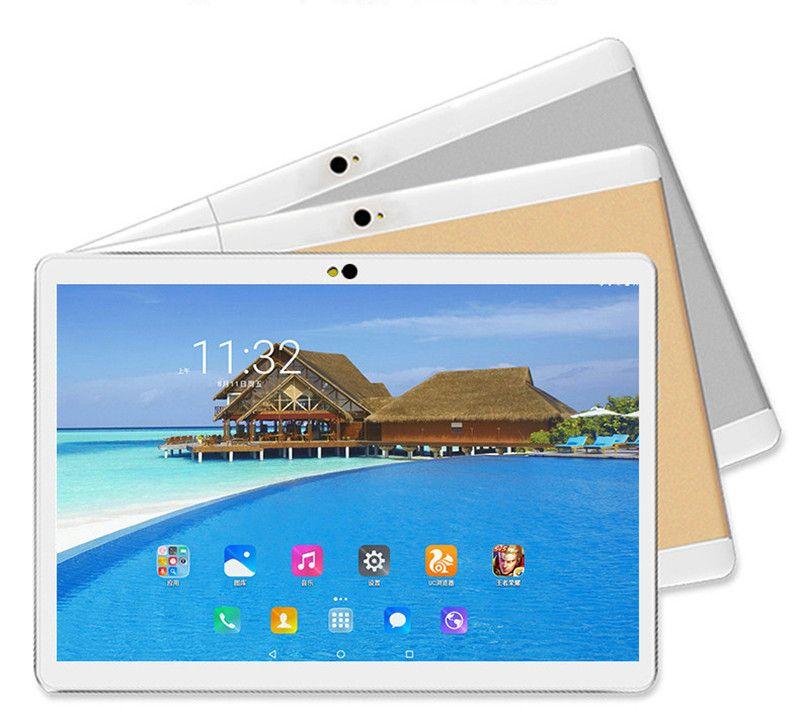 Tabela de 10 polegadas Tablet PC Dual Couch Screen 16G Tabuletas Bluetooth GPS DHL Freall IPS de alta definição