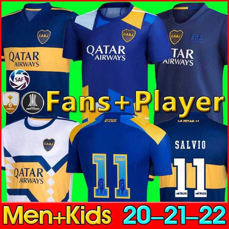2020 2021 2022 Maillot de foot Boca Juniors Domicile Extérieur 20 21 22 Boca Juniors TEVEZ MARADONA MOURA ABILA REYNOSO DE ROSSI Maillot de foot sport JRS