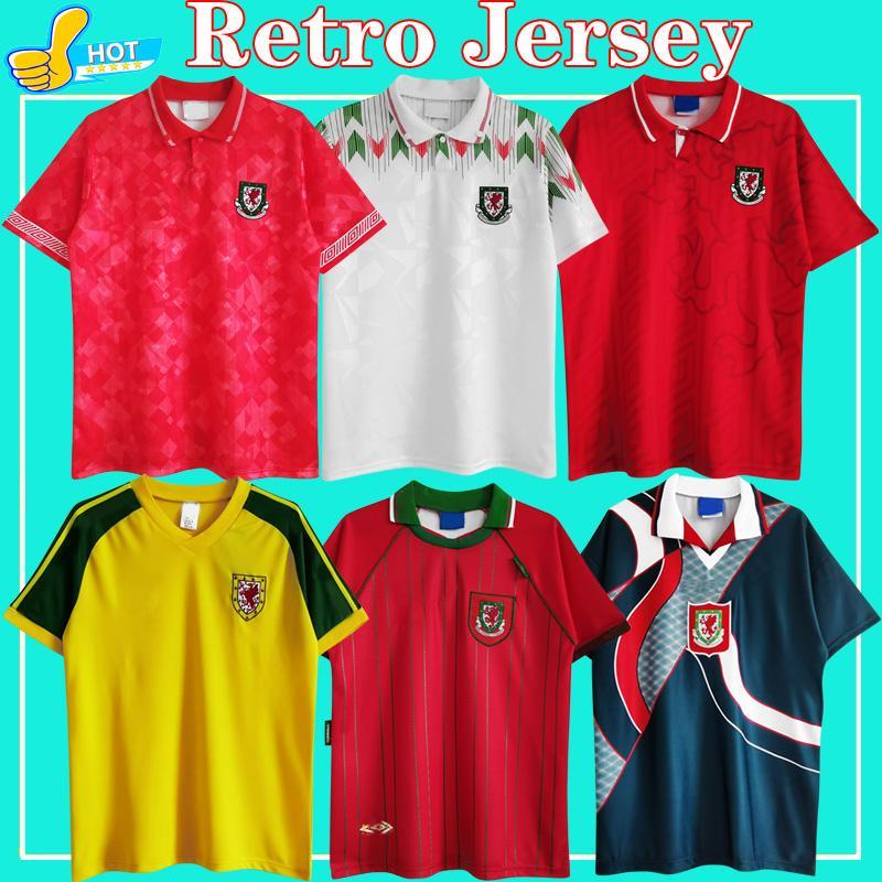 الرجعية Soccer Jerseys Wales 1982 1990 1992 1994 1996 الصفحة الرئيسية 82 90 92 94 96 قميص كرة القدم الكلاسيكي