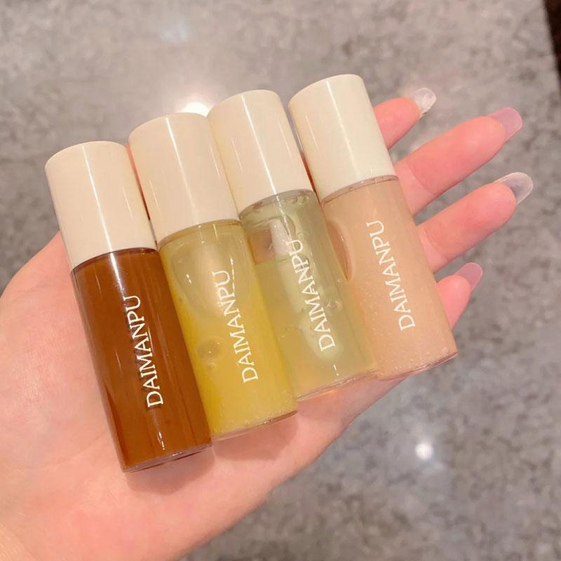 Cores labelo brilho duradouro hidratante make up shine shimmer cuidado fácil de usar rugas desaparecer cosméticos