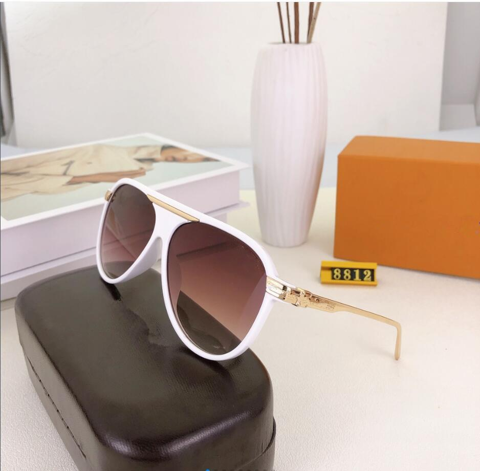 Sommer Verkauf Mode Frau Radfahren Gläser Klassische Outdoor Sport Sonnenbrille Eyewear Herren Strand Sonnenglas 6farbenfrei