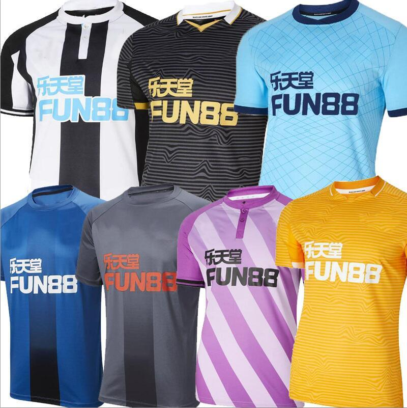 Wilson Soccer Jersey Third United 21 22 New Shelvey 2021 2022 Castle Camisetas Joelinton Fraser Football Shirt Almiron Ritchie Lewis Lascelles Tops