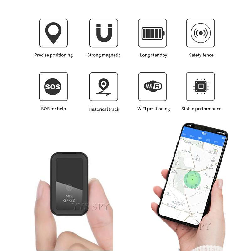 Mini GPS Tracker Magnetic LBS Wifi Positioning SOS Fence Alarm 2G SIM SMS Voice Recorder APP Remote Covert Car Locator Activity Trackers