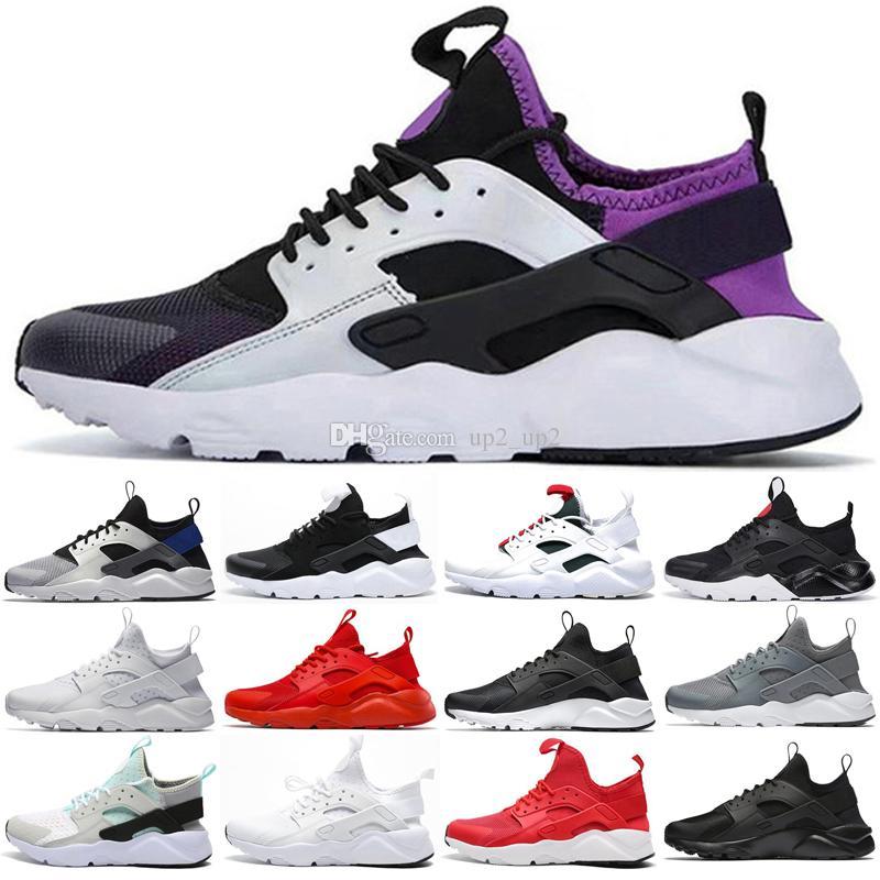 Erkekler Kadınlar için Huarache Ultra Açık Ayakkabı Üçlü Beyaz Siyah Kırmızı Gri Erkek Bayan Huaraches Eğitmenler Spor Ayakkabı Sneakers