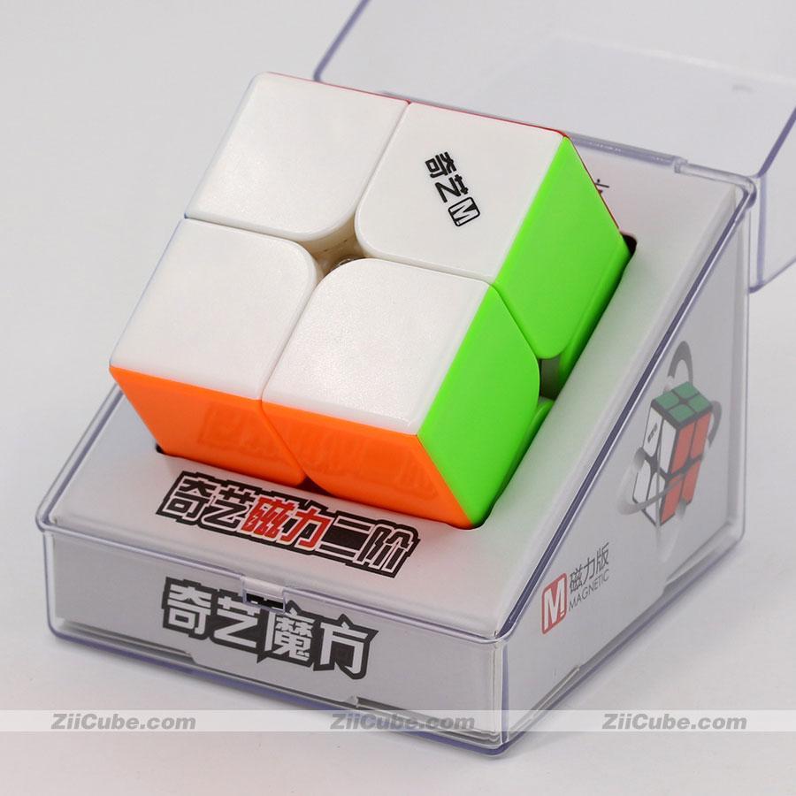 Magic Puzlle Qiyi المكعب المغناطيسي الألغاز المغناطيس 2x2x2 3x3x3 4x4x4 5x5x5 الهرم 4x4 pyramorphix 3x3 mastermorphix سرعة مكعب لعبة