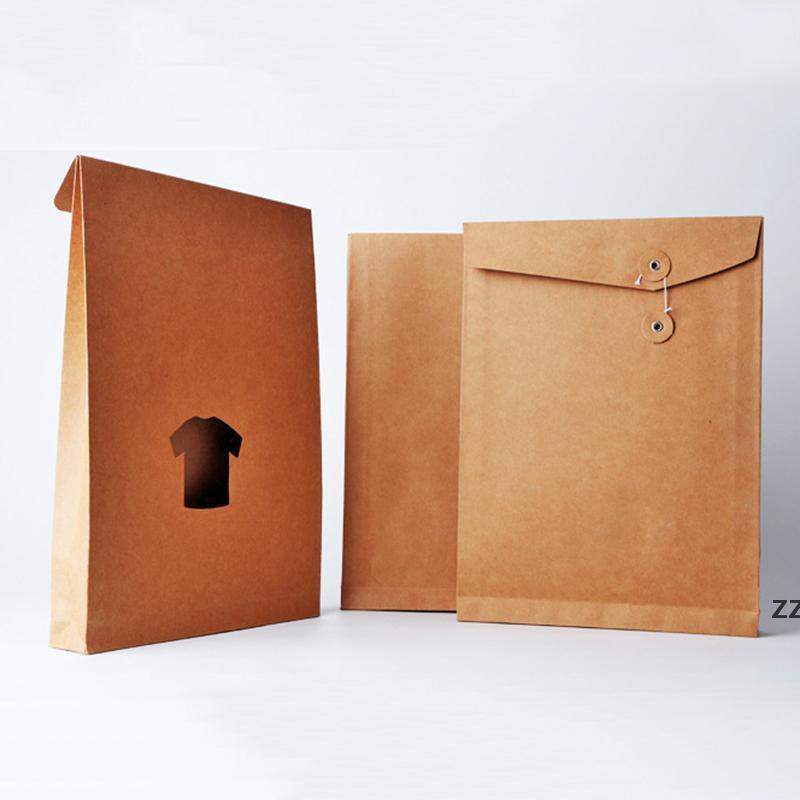 Haushaltsunternehmen Kraftpapier Taschen A4 Dateiordner Verdickte Bidding Personalinformation Kunststoff Lagerung Bürobedarf Kleidung HWF9036