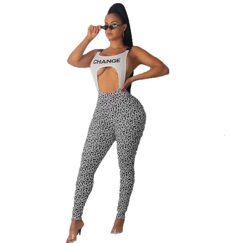 جديد شعبية عارية الذراعين رومبير المرأة بذلة القوطية مثير إلكتروني طباعة وزرة للنساء نادي catsuit 5168
