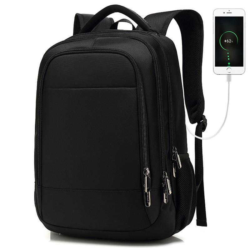 Sac à dos Sac à l'école Travel Voyage Grand Capacité Computer USB Chargement imperméable