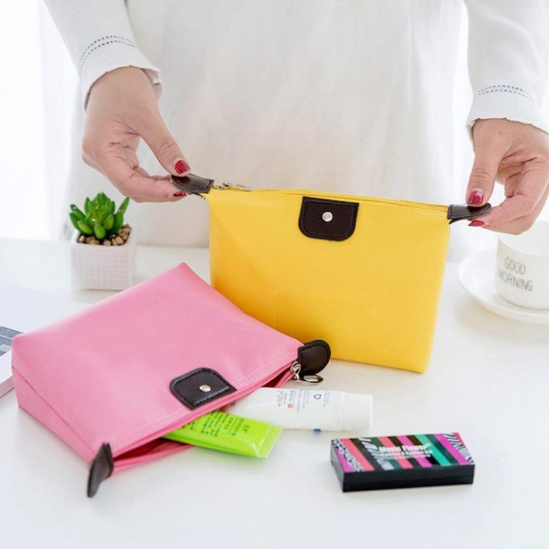 Los cosméticos hacen que la bolsa de bola de masa de lavado, la bolsa de almacenamiento a prueba de agua