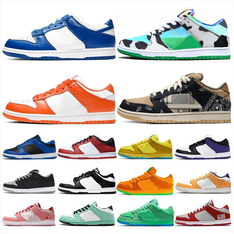 dunk Chunky Dunky Low running shoes for men women Kentucky University Red green bear Syracuse Chicago Valentines Day womens trainers outdoor sports sneakers