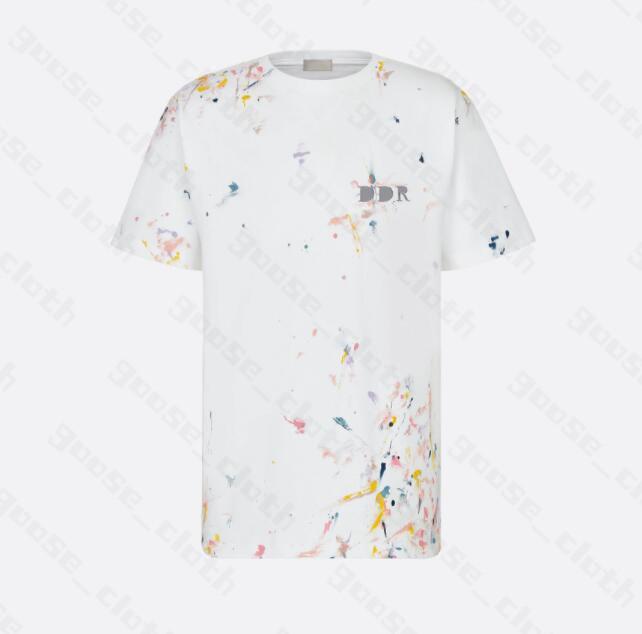 2021 망 디자이너 T 셔츠 크리스티스 패션 남자 캐주얼 티셔츠 남자 파리 프랑스 스트리트 반바지 소매 의류 tshirt 만화 꿀벌